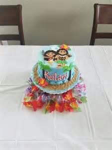 Moana Birthday Party Cakes