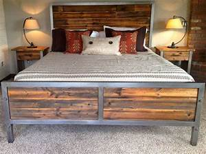 iron and wood bedroom furniture with regard to Your house