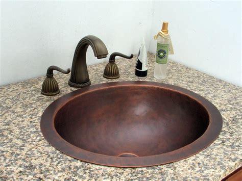 China Undermount Copper Bathroom Vanity Sinks (ocs-ces