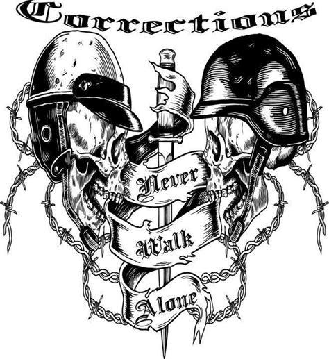 correction bureau correctional officer we never walk alone correctional
