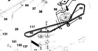 craftsman 917 276081 transaxle dirve belt schemtics