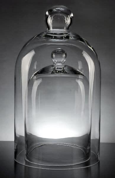 glass bell jars set