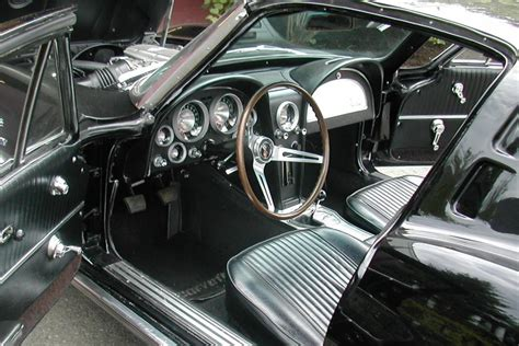 chevrolet corvette fi split window coupe