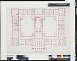 Two plans of Richmond Palace | Richmond palace, Palace ...