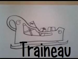 Traineau Du Pere Noel : dessiner un traineau de noel youtube ~ Medecine-chirurgie-esthetiques.com Avis de Voitures