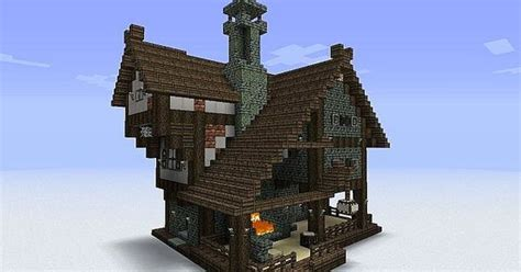forge    central chimney minecraft inspiration