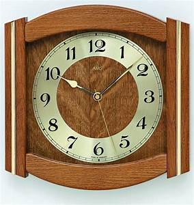 Horloge Murale Bois : horloge murale entourage bois laiton 3 coloris ~ Teatrodelosmanantiales.com Idées de Décoration