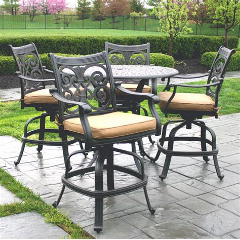 counter height patio furniture by alfresco home