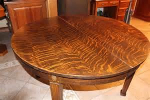 Antique Tiger Oak Dresser by Dining Table Tiger Oak Antique Dining Table