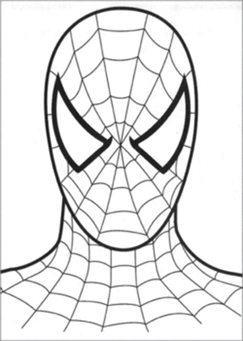 spiderman face spiderman coloring pages  printable ideas  family shoppingbagcom