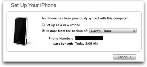 restore iphone from backup transfer texts and settings from an iphone to a new