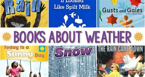 weather books for preschoolers pre k pages 828 | Weather Books for Preschool Kids