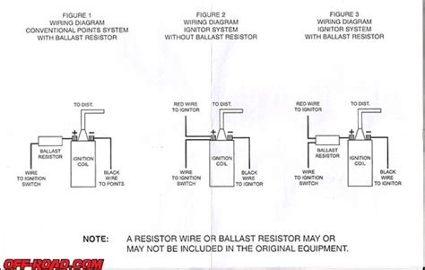 Brainer Wiring Question Ballast Resistor Page