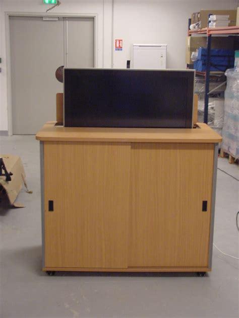 bureau encastrable meubles pour écran motorisé encastré fabricant de