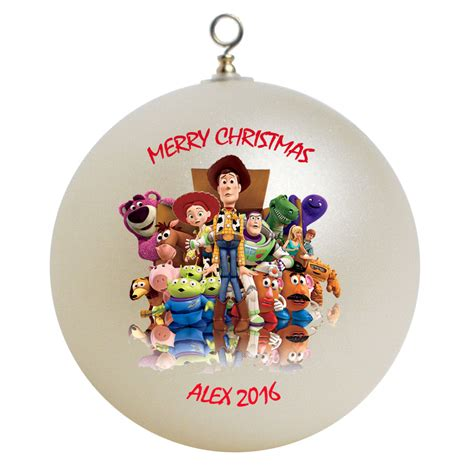 toy christmas ornaments personalized story ornament gift ornaments