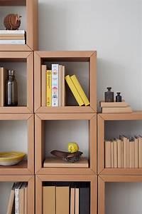 Bilderrahmen Aus Pappe : cardboard furniture from berlin book shelf all of carton wohnen karton m bel pappe und ~ Watch28wear.com Haus und Dekorationen