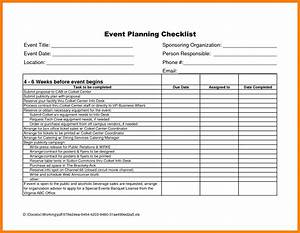 9 free event planning checklist template excel ideas of With music festival planning template