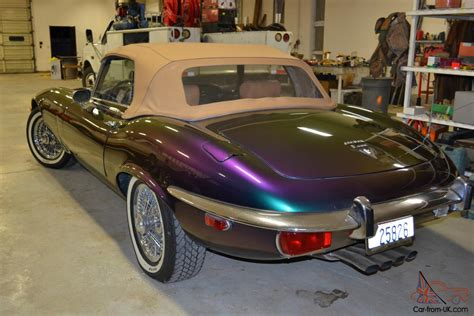 Beautiful 1973 Jaguar E-type Convertible V-12 4 Speed