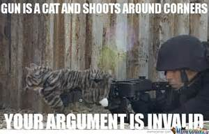 Funny Cats with Guns Memes