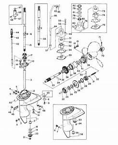 Mariner 8a Gearhousing Ass U0026 39 Y Parts