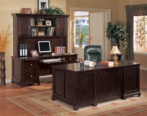 metro home office executive desk set  credenza