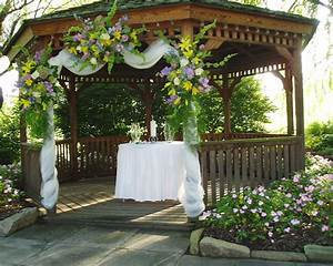 wedding decorating a gazebo for wedding With how to decorate for a wedding