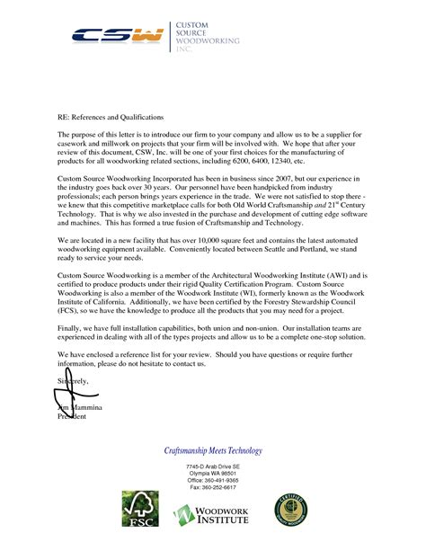 customer reference letter template