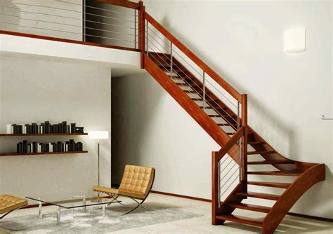 model ukuran desain tangga rumah minimalis  menarik