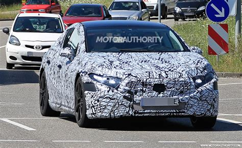 mercedes benz eqs spy shots