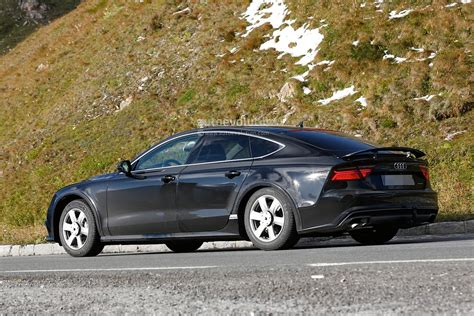 2018 Audi A7 Chassis Testing Mule Seen For The