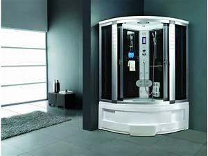 Cabine De Douche Intégrale 80x80 : cabine de douche int grale avec jets d 39 eau massant ~ Dallasstarsshop.com Idées de Décoration
