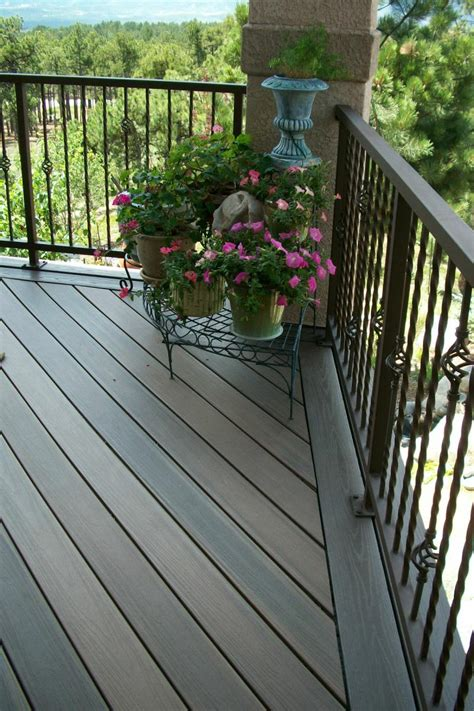 Installing Trex Decking Diagonal by Trex Decks In Colorado Springs Decks By Schmillen