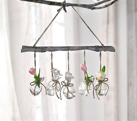 Herbst Deko Ast Fenster by Deko H 228 Nger Small Vases 6tlg Fr 252 Hling Fensterdeko