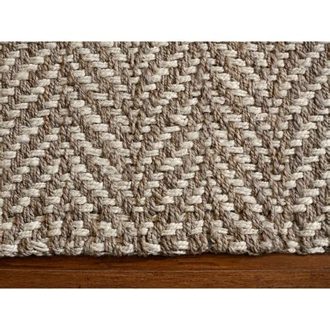 white and brown rug the conestoga trading co hines woven brown white