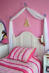 creating a disney princess room on a budget homemade With diy princess bed canopy for kids bedroom