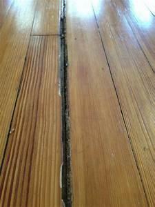 Filling huge gaps in hardwood floors doityourselfcom for How to fix gaps in hardwood floors