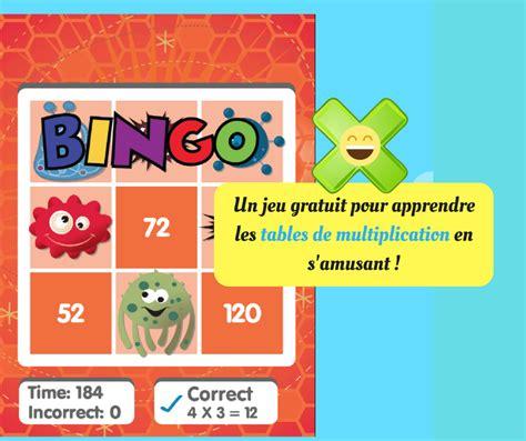 Math Bingo  Une Excellente Idée Pour Apprendre Les Tables