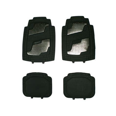 tapis de sol norauto 4 tapis de voiture universels en pvc norauto sport noir norauto fr