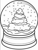 Coloring Snow Globe Christmas Tree Drawing Cone Pages Printable Snowglobe Theater Coloringpagebook Clipart Globes Getcolorings Easy Diy Getdrawings Advertisement sketch template