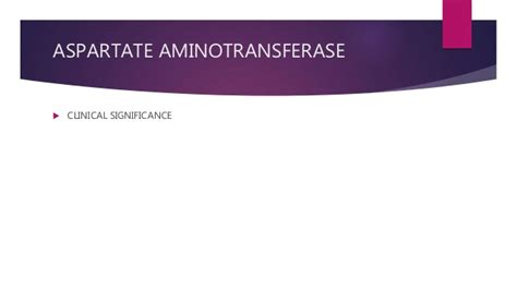 aspartate aminotransferase normal range liver function test aspartate aminotransferase ast