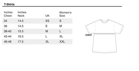 Tshirt Size S size guide rokit vintage clothing