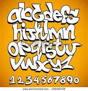 graffiti font alphabet by banana republic images via With banana letters