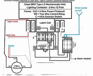 240 Volt Contactor Wiring Diagram Free Download