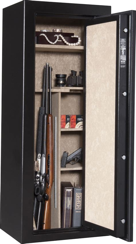 Cannon Safe S14 Scout Series Fire Safe, Hammer-Tone Black