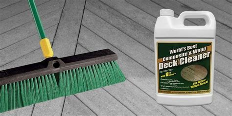 Trex Deck Cleaner by Composite Deck Cleaning Compositedecking