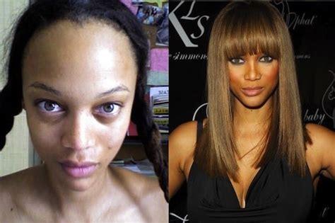 celebrities   completely   makeup