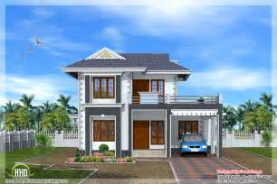 Beautiful Home Model Plans by Beautiful 3 Bedroom Kerala Home Design Kerala Home