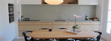 beton cire pour credence cuisine béton ciré cuisine pour sols murs crédences sur