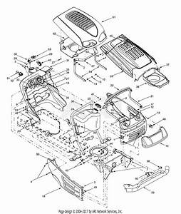 Mtd 13av607h131  2001  Parts Diagram For Hood Style 7  U0026 8