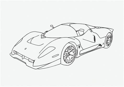 Coloring Car by Car Coloring Pages Free